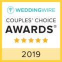 WeddingWire Couples Choice Award 2019